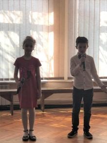 Вітаємо учнів нашої школи з чудовими досягненнями в районному конкурсі читців «Місто та містяни».